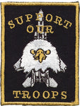 """Support Our Troops"" Eagle Patch"