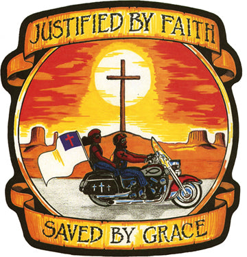 """Justified By Faith/Saved By Grace"" Patch"