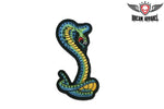 Blue, Green & Yellow Cobra Patch