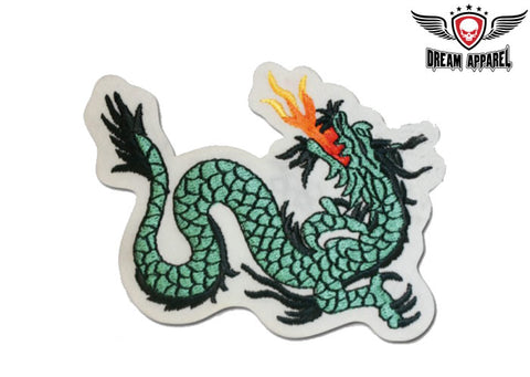 Dragon With Flame Patch