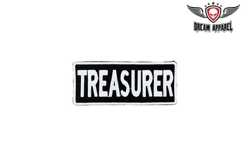 Motorcycle Club Treasurer Patch