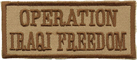 """Operation Iraqi Freedom"" Patch"