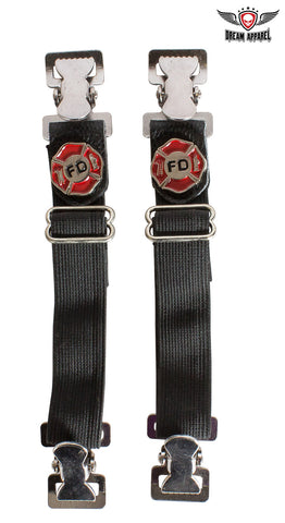 Fire Department Alligator Boot Clips