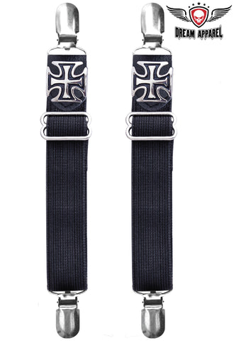 Iron Cross Boot Clips