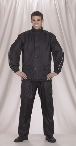 2 Piece Motorcycle Rain Suit