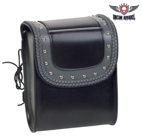 PVC Motorcycle Sissy Bar Bag With Quick Release