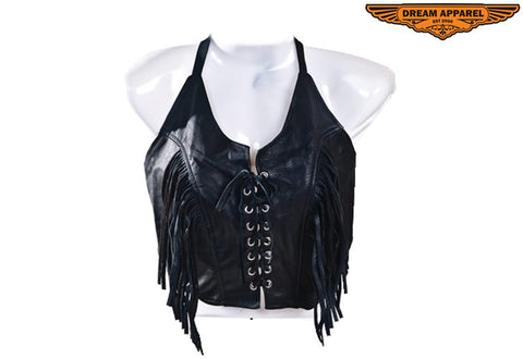 Womens Leather Top