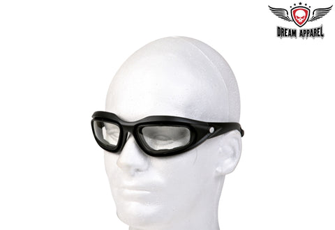 Riding Glasses with Clear Lens