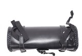 "12"" PVC Motorcycle Tool Bag With Braid & Concho"