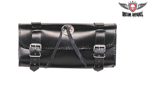 Plain Motorcycle Tool Bag With Concho