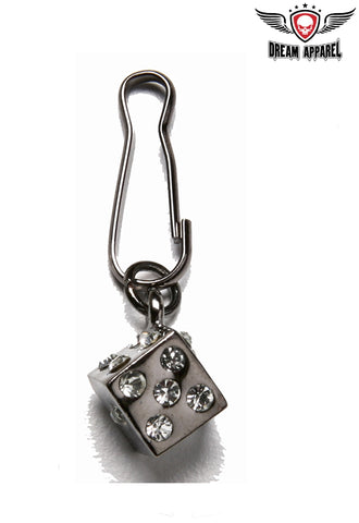 Small Dice Zipper Puller
