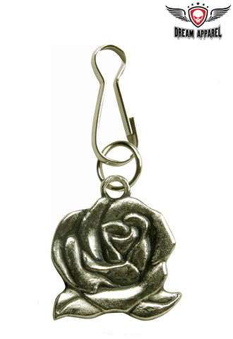 Rose Zipper Puller