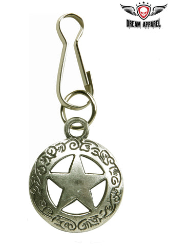 Lone Star Celtic Ornament Zipper Puller