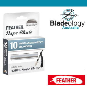 Feather Nape Blades (pack of 10)