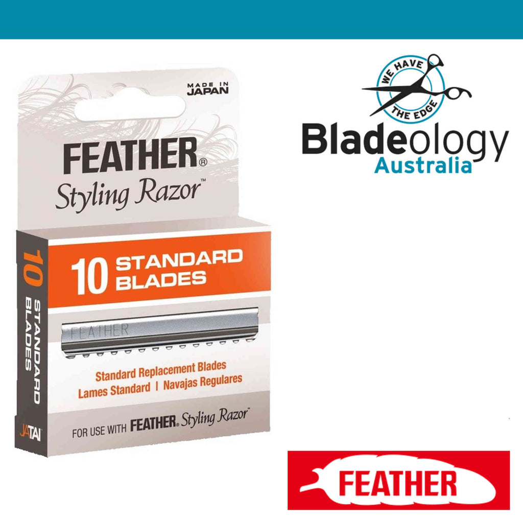 Feather Styling Blades (pack of 10) Single Pack