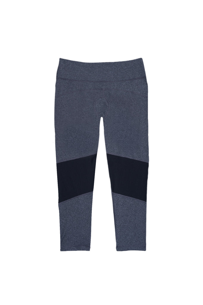 Dear Kate - The Go Kommando Yoga Capri - Heather Gray - 8
