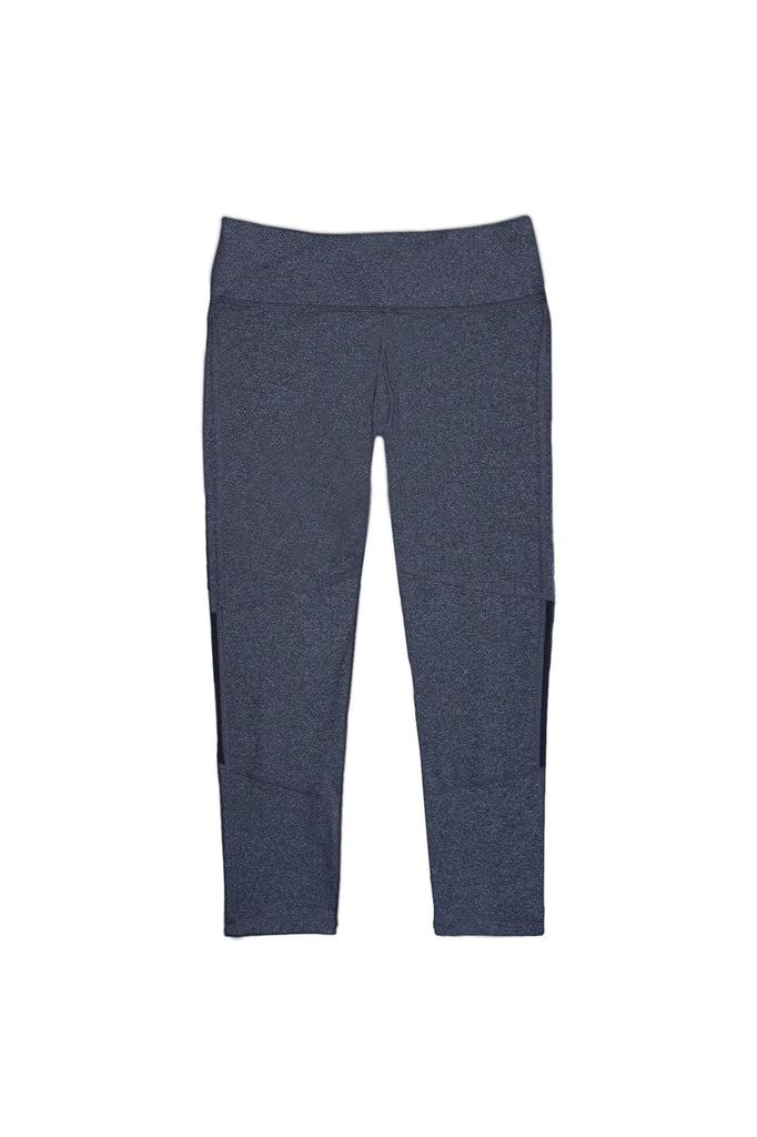 Dear Kate - The Go Kommando Yoga Capri - Heather Gray - 7