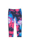 Dear Kate - The Go Kommando Yoga Capri - Galaxy - 7