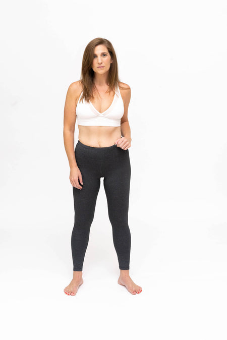 Go Commando Yoga Capri - Gray Mosaic