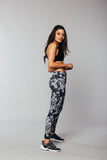 The Go Commando Yoga Full-Length - Gray Mosaic - The Go Commando Yoga Full-Length - Gray Mosaic