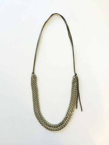 Dylan Double Chain Necklace
