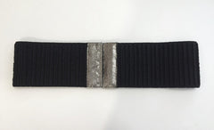 Lola Leather Trimmed Belt