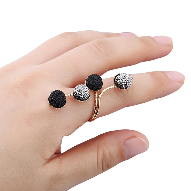 Women's Ring Simple Style Vintage Alloy Resin Ring Accessory - Lova