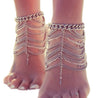 One Piece Fashion Chains Multi-layers Women Anklet - Lova
