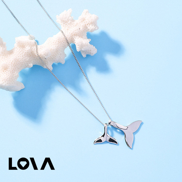 Women Pendant Necklace Korean Dolphins necklaces & pendants Neck Accessories Collares Kolye - Lova
