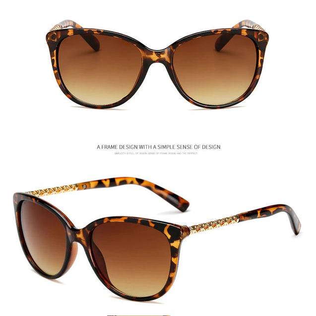 Luxury Vintage Cat Eye Sunglasses - Lova