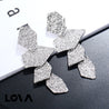 Women's Ear Drop Exquisite Personalized Chic Faddish Earrings Accessory - Lova