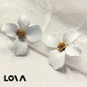 Women's Fashion Studs Flower Decoration All Match Earrings - LovastyleOfficial