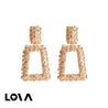 Women's Drop Earrings Shiny Sequins Decor Retro Style Fashion Earrrings - Lova