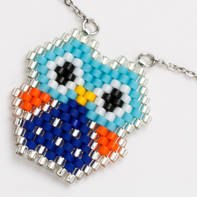Women's Fashion Necklace Weave Owl Design Delicate Accessory - LovastyleOfficial