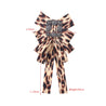 Women's Bow Brooch Elegant Stylish Leopard Pattern Accessory - Lova