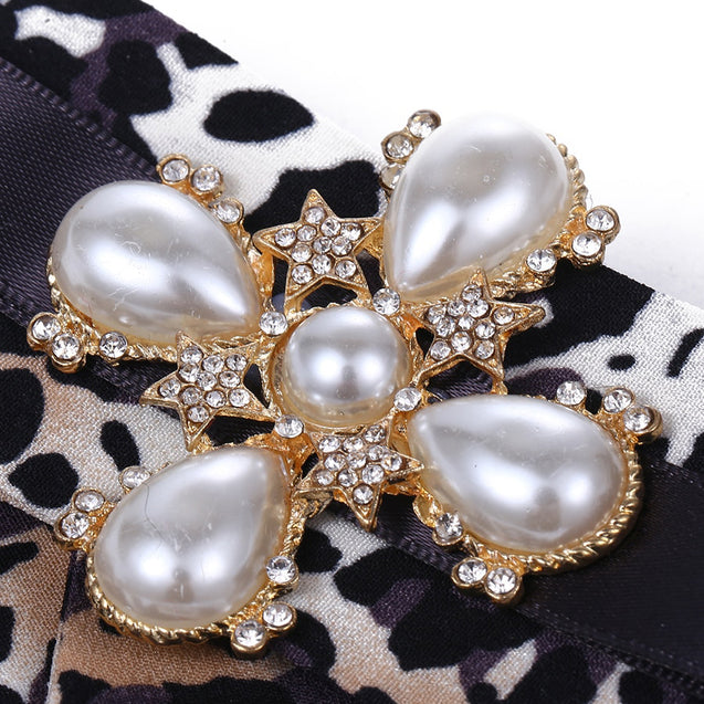 Women's Bow Brooch Chic Elegant Stylish Leopard Pattern Brooch - LovastyleOfficial