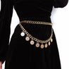 Women's Waist Chain Creative Tassel Design Fashion Double-Layer Body Chain - Lova