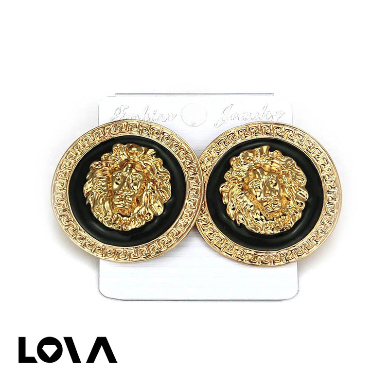 Women's Studs Exaggerated Design Stylish Personality All Match Accessories - Lova