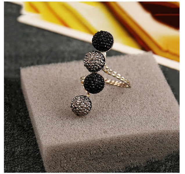 Women's Ring Simple Style Vintage Alloy Resin Ring Accessory - LovastyleOfficial