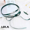 spring and summer crocodile silk belt short women necklace - Lova
