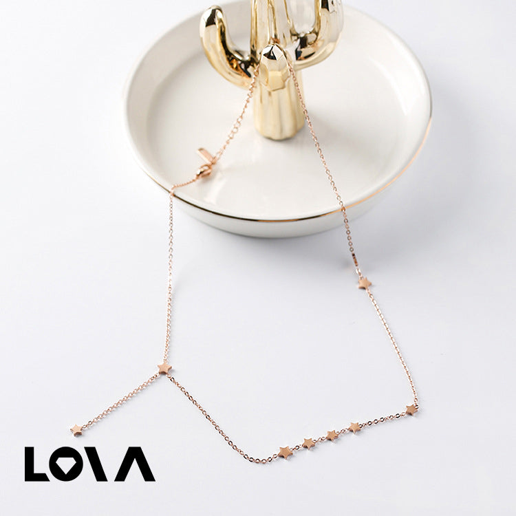 Stars Tassel Necklace Best Selling Star Chokers Necklace Jewelry - Lova