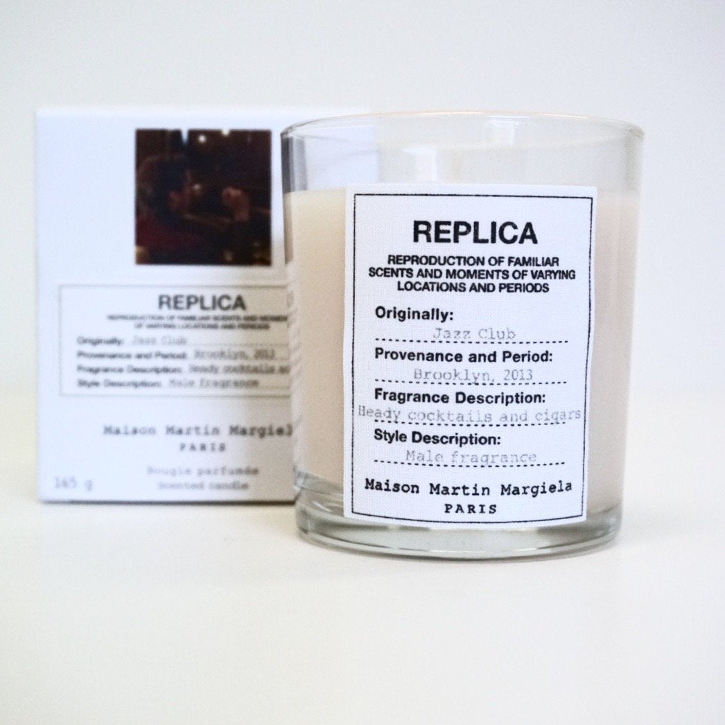 Jazz club scented candle