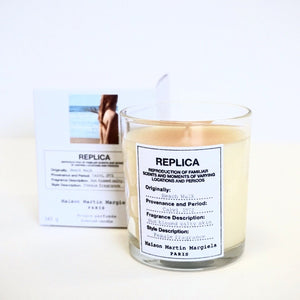 Beach walk candle