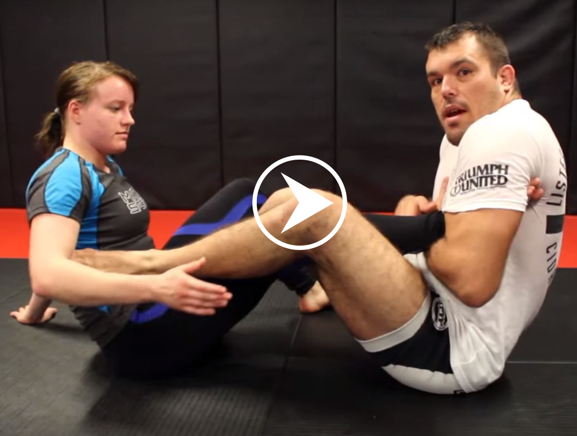 Dean Lister - Straight Ankle Foot Lock