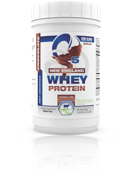 Chocolate New England and Vanilla New Zealand Whey Protein
