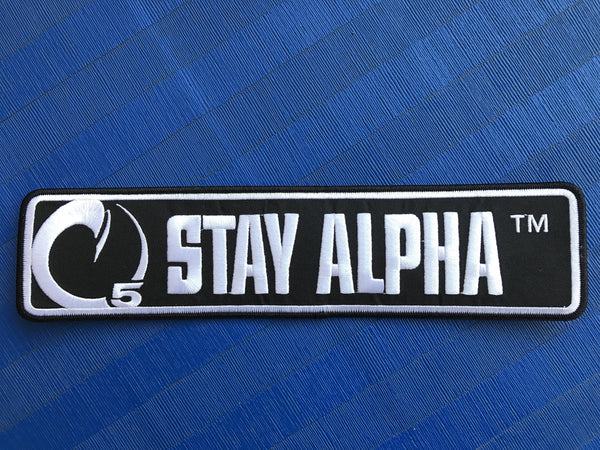 STAY ALPHA PATCHES