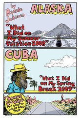 "Bonnie's Travel Zine #2 (""Alaska/Cuba"")"