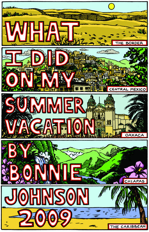 SOLD OUT - Bonnie's Travel Zine #1 (