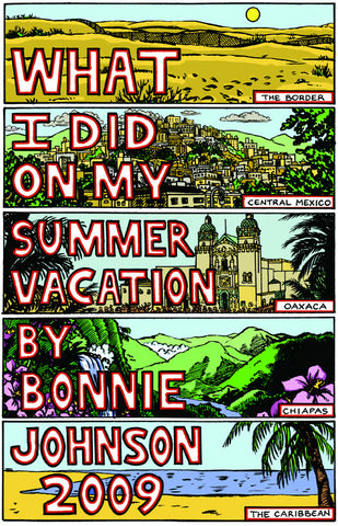 "Bonnie's Travel Zine #1 (""Summer 2009"")"
