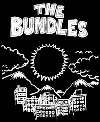 Shirt (Black) - The Bundles (K Records logo on back)